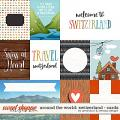 Around the world: Switzerland cards by Amanda Yi & WendyP Designs
