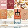 Cozy Days Cards by Studio Basic & WendyP Designs