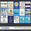 The Hanukkah Song Cards by Clever Monkey Graphics