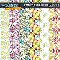 CU Pattern Builders no. 2 Large by Tracie Stroud