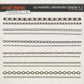 CU REALISTIC ELEMENTS   CHAINS V.1 by The Nifty Pixel