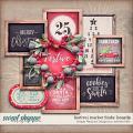 festive market finds boards: simple pleasure designs by jennifer fehr