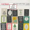 After the Holly-Daze: Cards by Erica Zane