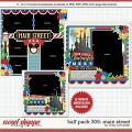 Cindy's Layered Templates - Half Pack 305: Main Street by Cindy Schneider