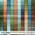 Christmas Happiness | Extra Papers by Digital Scrapbook Ingredients