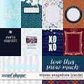 Winter Snapshots {cards} by Blagovesta Gosheva, Grace Lee & River Rose Designs