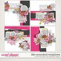 LIFE RECORDED   TEMPLATES by The Nifty Pixel & Lynn Grieveson Designs