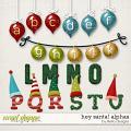 Hey Santa! Alphas by lliella designs