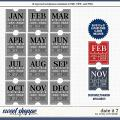 Cindy's Layered Templates - Date It 7 by Cindy Schneider