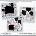 Cindy's Layered Templates - Trio Pack 93: Winter Time by Cindy Schneider