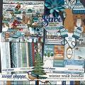 Winter walk - Bundle by Clever Monkey Graphics & WendyP Designs