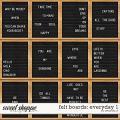 Felt Boards: Everyday 1 by Amanda Yi