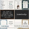 Homebody Pocket Cards by Ponytails