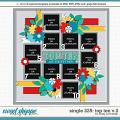 Cindy's Layered Templates - Single 225: Top Ten V.2 by Cindy Schneider