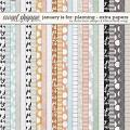 January Is For: Planning Extra Papers by Studio Basic and Little Butterfly