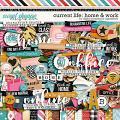 Current Life: Home & Work by Digital Scrapbook Ingredients