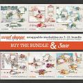 SCRAPPABLE STACKABLES No.7-12 | BUNDLE by The Nifty Pixel & Lynn Grieveson Designs