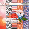 DigiScrap Parade February 2021- I Will Survive by Meagan's Creations