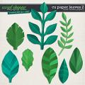 CU Paper Leaves 2 by Clever Monkey Graphics