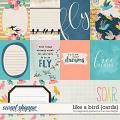 Like a Bird: Cards by Blagovesta Gosheva & River Rose Designs