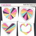 Feel the Love v.3 Templates by Erica Zane
