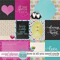All You Need is Love Cards by JoCee Designs