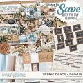 Winter Beach - Bundle by WendyP Designs