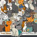 Purrfect Kitty Cats by Clever Monkey Graphics