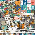 Purrfect Kitty Large Bundle by Clever Monkey Graphics