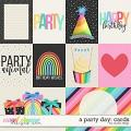 A Party Day: CARDS by Studio Flergs