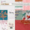 February Is All About Love Cards by Studio Basic and Little Butterfly Wings