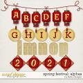 Spring Festival Alphas by lliella designs