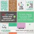 Lucky Charm Pocket Cards by Ponytails