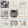 A NIFTY TOOL KIT   PHOTO MOUNTS & FRAMES V.2 by The Nifty Pixel