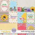 Hello Spring Cards by JoCee Designs