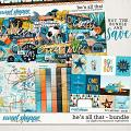 He's All That Bundle by Digital Scrapbook Ingredients