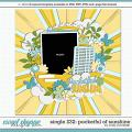 Cindy's Layered Templates - Single 232: Pocketful of Sunshine by Cindy Schneider