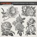 CU BRUSH & STAMPS | ROSE ETCHINGS V.1 by The Nifty Pixel