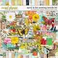 April Is For Sowing Seeds Kit by Studio Basic & Little Butterfly Wings