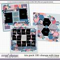 Cindy's Layered Templates - Trio Pack 100: Change with Time by Cindy Schneider