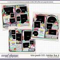 Cindy's Layered Templates - Trio Pack 101: Folder Fun 4 by Cindy Schneider