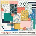 My Story Matters Patterned Cards by Traci Reed