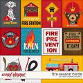 Fire Season Cards by Clever Monkey Graphics