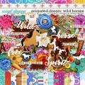 Animated Dream: Wild Horses by Meagan's Creations & WendyP Designs