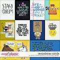 Weirdness Cards by Clever Monkey Graphics & Tracy Martin Designs