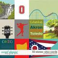 50 States: Ohio Cards by Kelly Bangs Creative