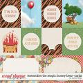 Remember the Magic: HONEY BEAR- CARDS by Studio Flergs