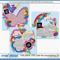 Cindy's Layered Templates - Trio Pack 103: Just for Journaling 33 by Cindy Schneider