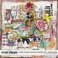 Mish Mash Mixed Media #1 Elements by Studio Basic