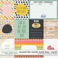 Around the world: hotel stay - cards by Amanda Yi & WendyP Designs